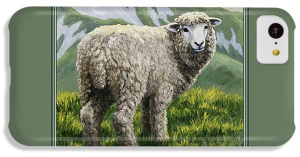 Highland Ewe IPhone 5c Case