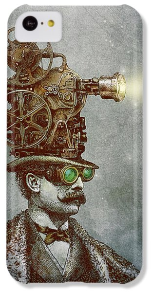 Magician iPhone 5c Case - The Projectionist by Eric Fan