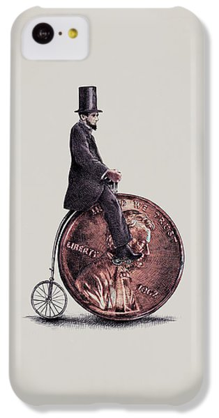 Penny Farthing IPhone 5c Case by Eric Fan
