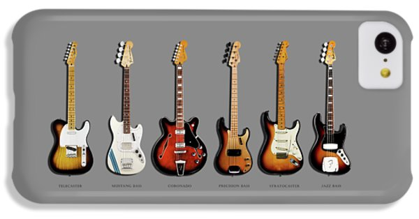 Guitar iPhone 5c Case - Fender Guitar Collection by Mark Rogan