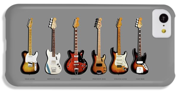 Music iPhone 5c Case - Fender Guitar Collection by Mark Rogan