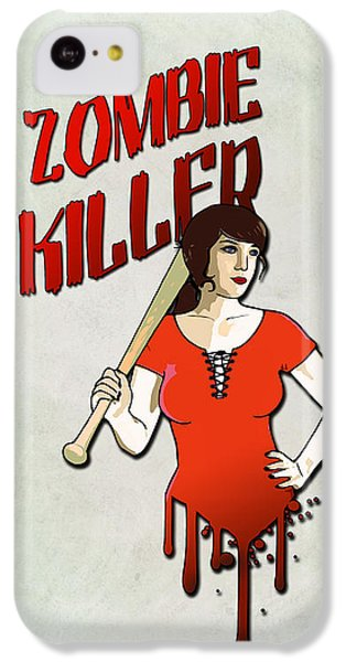 Bat iPhone 5c Case - Zombie Killer by Nicklas Gustafsson