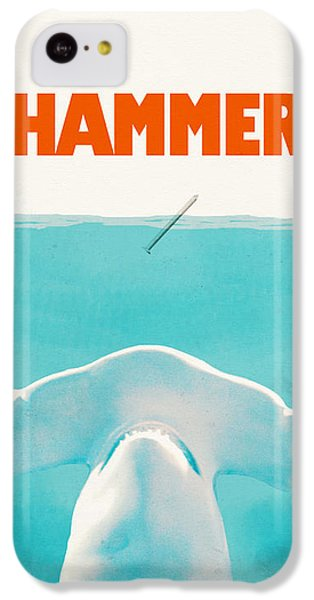Sharks iPhone 5c Case - Hammer by Eric Fan