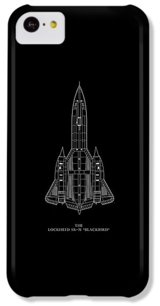 The Lockheed Sr-71 Blackbird IPhone 5c Case by Mark Rogan