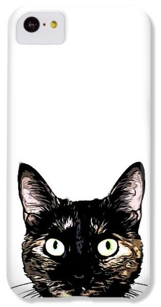 Peeking Cat IPhone 5c Case