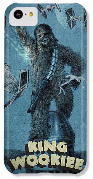 Empire State Building iPhone 5c Case - King Wookiee by Eric Fan