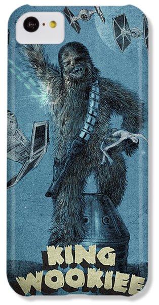 King Wookiee IPhone 5c Case by Eric Fan