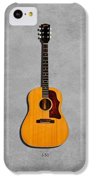 Gibson J-50 1967 IPhone 5c Case by Mark Rogan