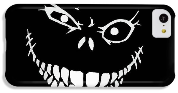 Bass iPhone 5c Case - Crazy Monster Grin by Nicklas Gustafsson