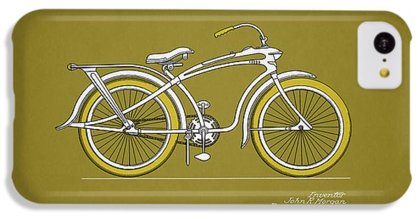 Bicycle iPhone 5c Case - Bicycle 1937 by Mark Rogan