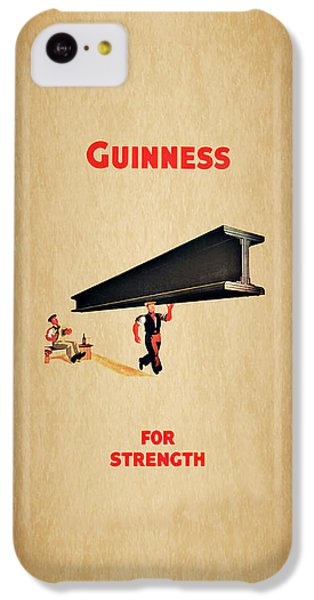 Guiness For Strength IPhone 5c Case by Mark Rogan