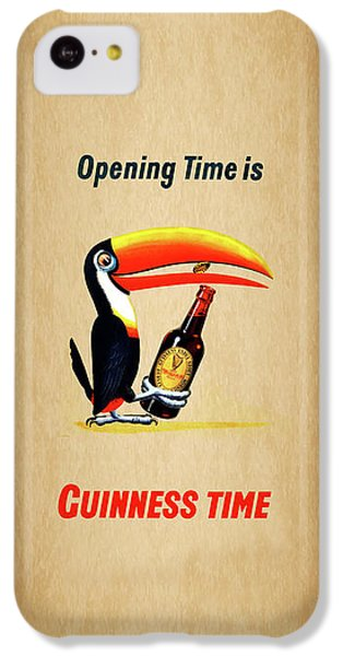 Opening Time Is Guinness Time IPhone 5c Case by Mark Rogan