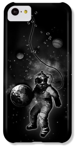 Deep Sea Space Diver IPhone 5c Case by Nicklas Gustafsson