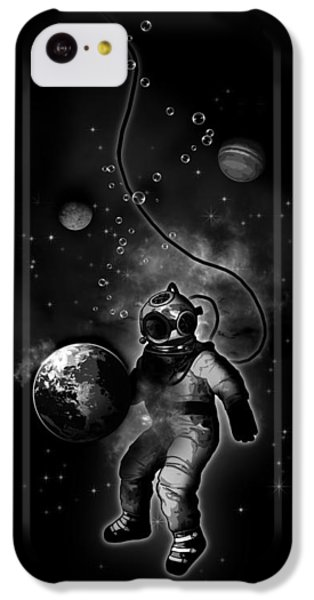 Deep Sea Space Diver IPhone 5c Case by Nicklas Gustafsson