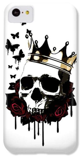 Floral iPhone 5c Case - El Rey De La Muerte by Nicklas Gustafsson