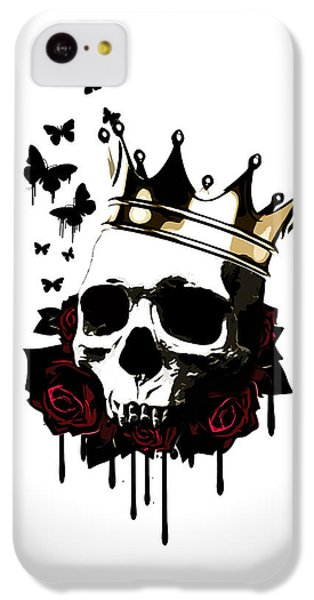 Butterfly iPhone 5c Case - El Rey De La Muerte by Nicklas Gustafsson