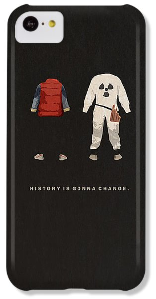 The iPhone 5c Case - Back To The Future by Alyn Spiller