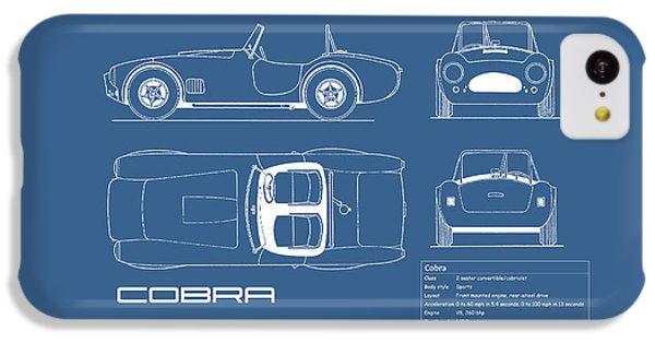 Ac Cobra Blueprint IPhone 5c Case