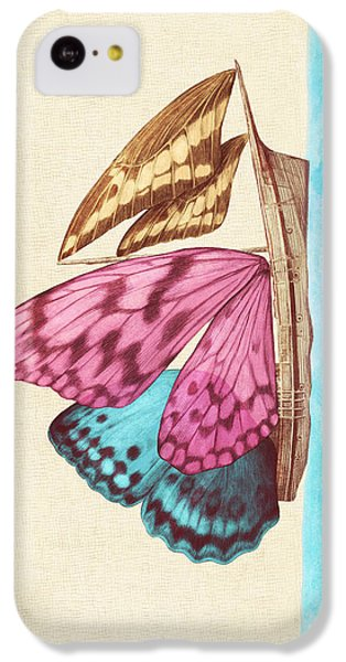 Butterfly Ship IPhone 5c Case
