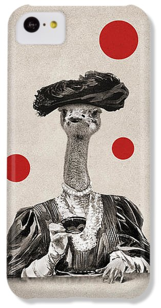 Ostrich iPhone 5c Case - Animal12 by Francois Brumas