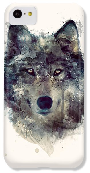 Wolf // Persevere IPhone 5c Case