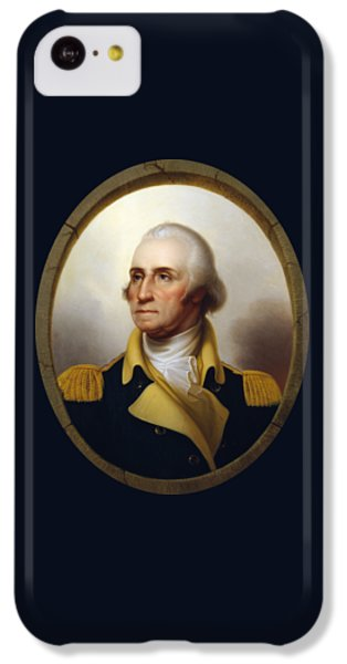 General Washington - Porthole Portrait  IPhone 5c Case by War Is Hell Store