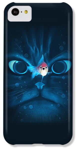 Cat Fish IPhone 5c Case by Nicholas Ely