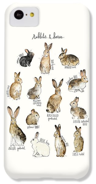 Rabbits And Hares IPhone 5c Case