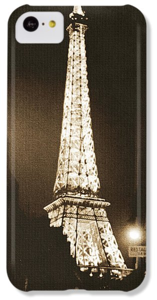 Postcard From Paris- Art By Linda Woods IPhone 5c Case by Linda Woods