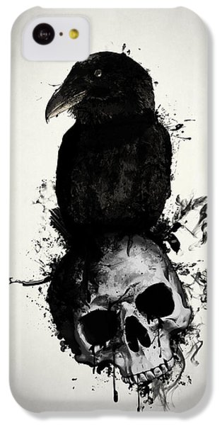 Raven And Skull IPhone 5c Case