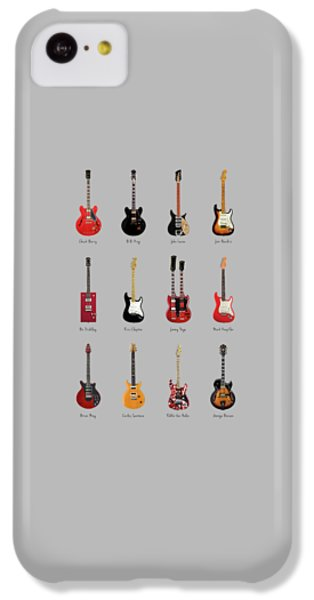 Guitar Icons No1 IPhone 5c Case by Mark Rogan