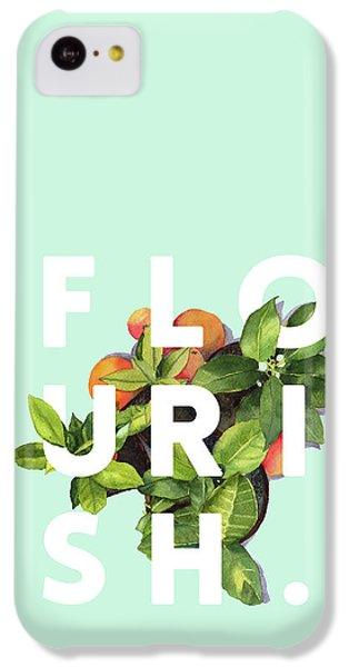Flowers iPhone 5c Case - Flourish by Uma Gokhale