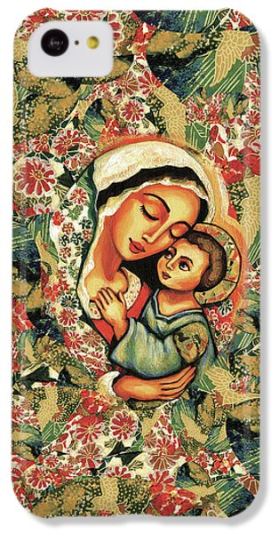 IPhone 5c Case featuring the painting The Blessed Mother by Eva Campbell