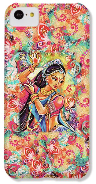 IPhone 5c Case featuring the painting Dancing Of The Phoenix by Eva Campbell