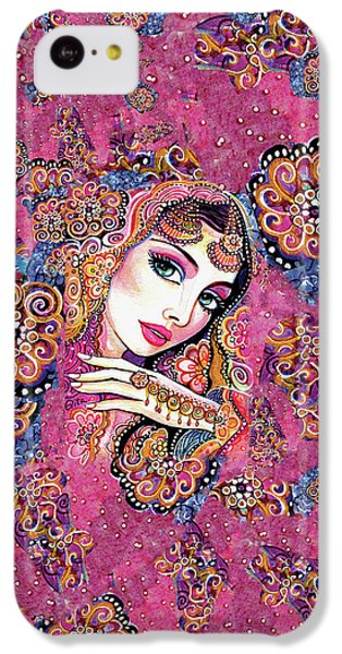 IPhone 5c Case featuring the painting Kumari by Eva Campbell