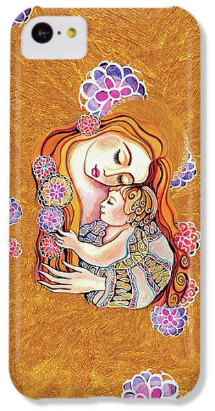 IPhone 5c Case featuring the painting Little Angel Sleeping by Eva Campbell