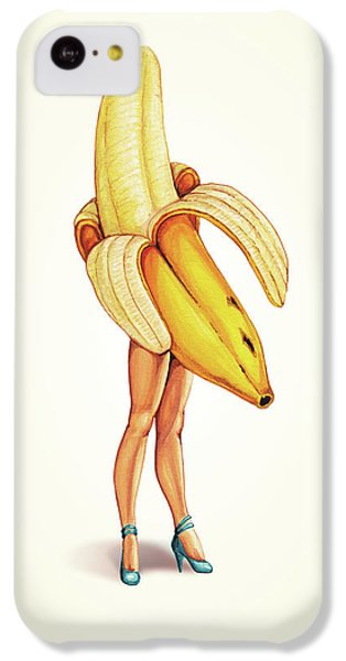 Fruit Stand - Banana IPhone 5c Case by Kelly Gilleran