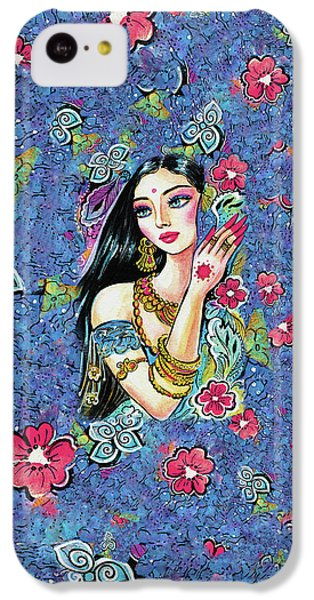 IPhone 5c Case featuring the painting Gita by Eva Campbell