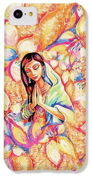 IPhone 5c Case featuring the painting Little Himalayan Pray by Eva Campbell