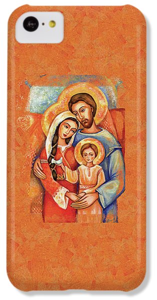 IPhone 5c Case featuring the painting The Holy Family by Eva Campbell