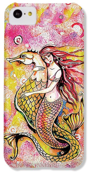 Black Sea Mermaid IPhone 5c Case