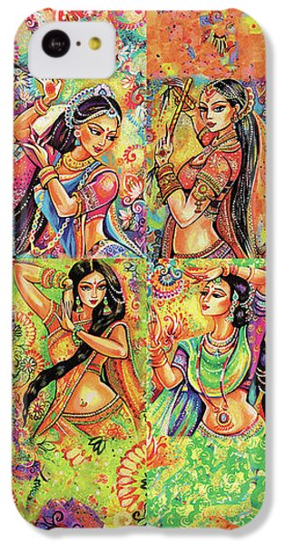 IPhone 5c Case featuring the painting Magic Of Dance by Eva Campbell