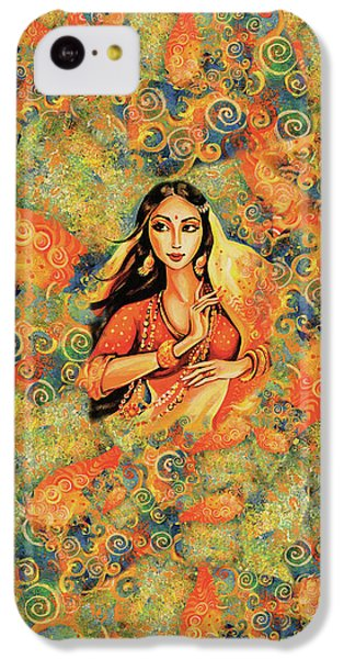 IPhone 5c Case featuring the painting Flame by Eva Campbell
