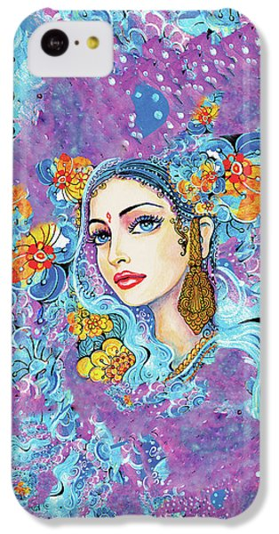 IPhone 5c Case featuring the painting The Veil Of Aish by Eva Campbell