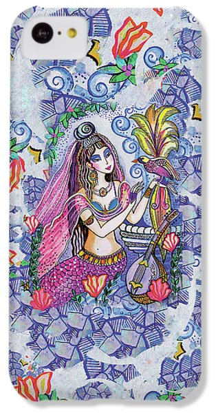 IPhone 5c Case featuring the painting Scheherazade's Bird by Eva Campbell
