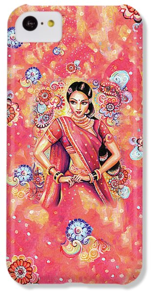 IPhone 5c Case featuring the painting Devika Dance by Eva Campbell