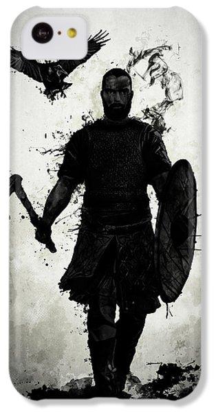 Raven iPhone 5c Case - To Valhalla by Nicklas Gustafsson