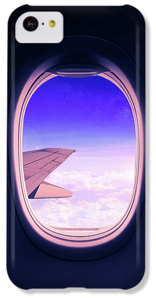 Airplane iPhone 5c Case - Travel The World by Nicklas Gustafsson