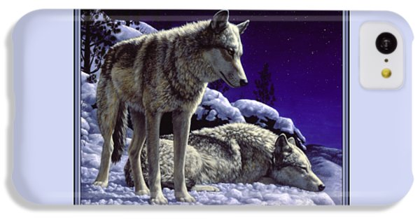 Wolf Painting - Night Watch IPhone 5c Case