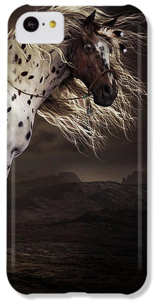 Horse iPhone 5c Case - Leopard Appalossa by Shanina Conway